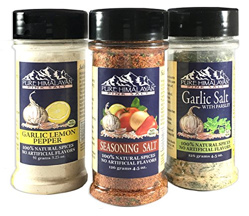 100% All Natural Spice Blends - Set of 3 by La Selva Beach Spice Co.
