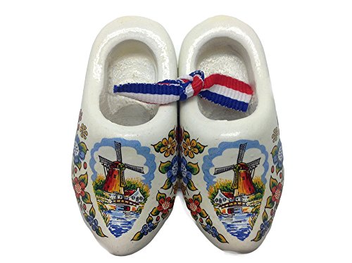 Essence of Europe Gifts E.H.G Holland Wooden Shoes Deluxe Multi-Color (2.5