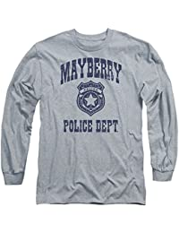 Andy Griffith Show Mayberry Police-L S Adult 18 1-Athletic Heather
