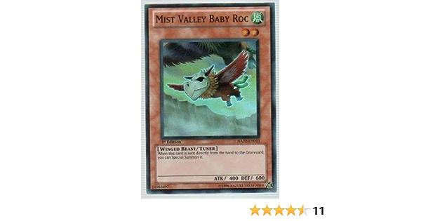 HA02-EN013 Super Rare Near Mint Yugioh Mist Valley Baby Roc