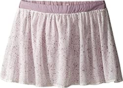 Appaman Kids Girl's Soft and Lined Sadie Gathered Skirt with Elastic Back Waist (Toddler/Little Kids/Big Kids) Speckle Skirt 8 Big Kids