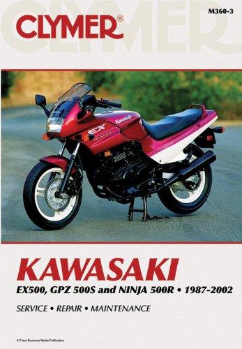 Kawasaki EX500, GPZ500S and Nina 500R 1987-2002 (CLYMER MOTORCYCLE REPAIR)