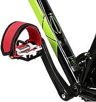 Pedal de bicicleta correas ajustable bicicleta pedales pies Pedal ...