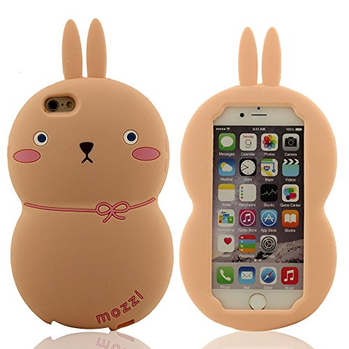 Lapin Forme Conception Charmant Rose clair Coque de Protection Case Protect iPhone 6 Plus / iPhone 6S Plus 5.5