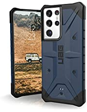 URBAN ARMOR GEAR UAG Designed for Samsung Galaxy S21 Ultra 5G Case [6.8-inch Screen] Rugged Lightweight Slim Shockproof Pathfinder Protective Cover, Mallard