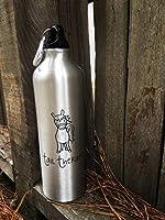 d9e19d9778a7 TailTherapy Horse 24-Ounce Aluminum Water Bottle - Carabiner Clip ...