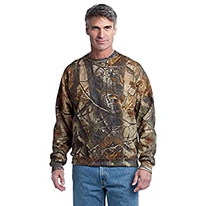 Russell Outdoors Men's Realtree Crewneck Sweatshirt, XL, Realtree