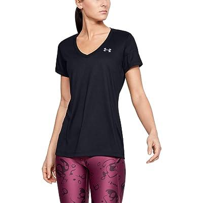 Under Armour Women's Tech V-Neck Short Sleeve: Clothing
