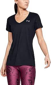 Under Armour Womens Tech V-Neck Short-Sleeve T-Shirt