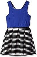 Bonnie Jean Girls' Ottoman Bodice to Stripe Skirt