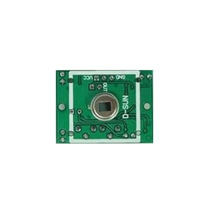 HC-SR501 Pequeño módulo de sensor PIR Detección de movimiento de cuerpo infrarrojo piroeléctrico Bobury