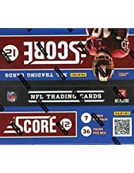 NFL 2012 Score Football Card Box