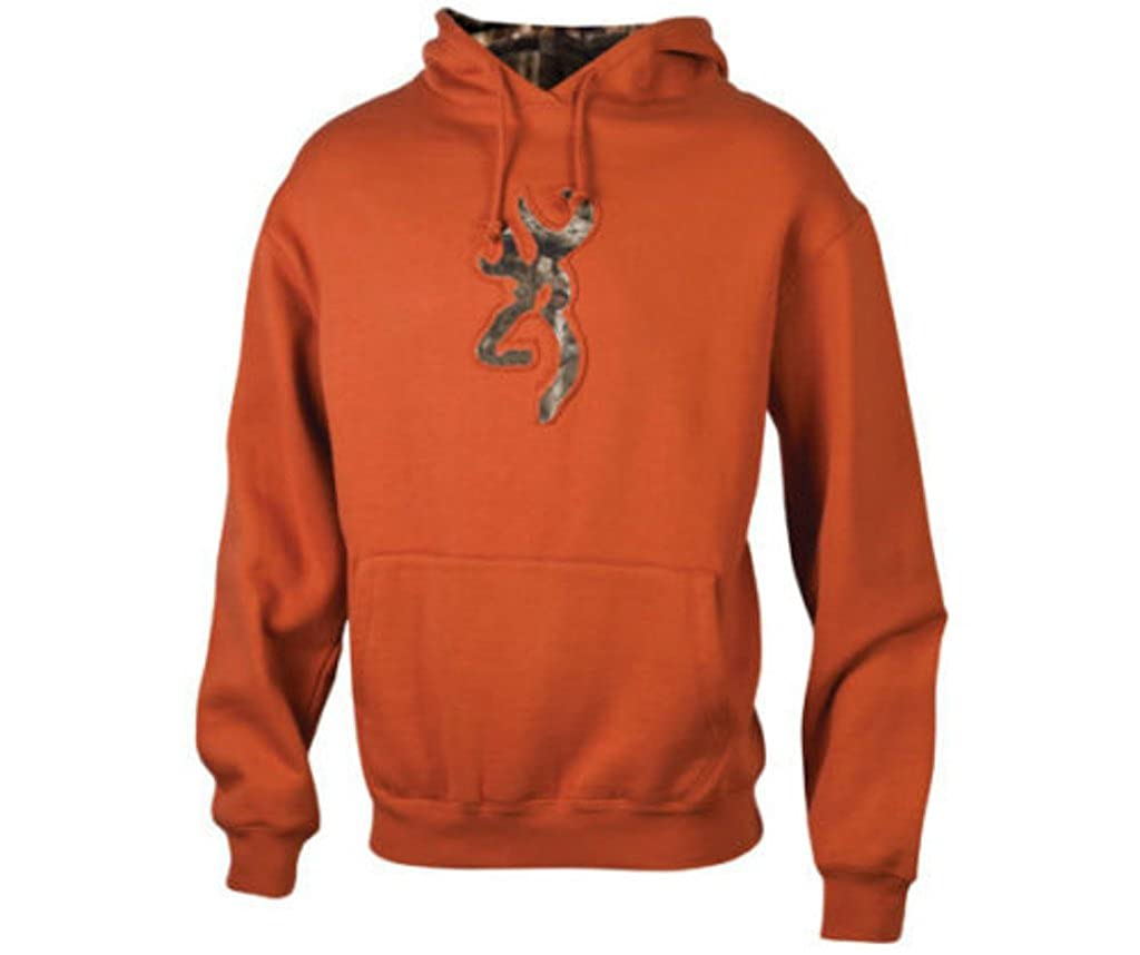 Amazon.com: Browning Buckmark Camo Sweatshirt, TEXAS ORANGE, M ...