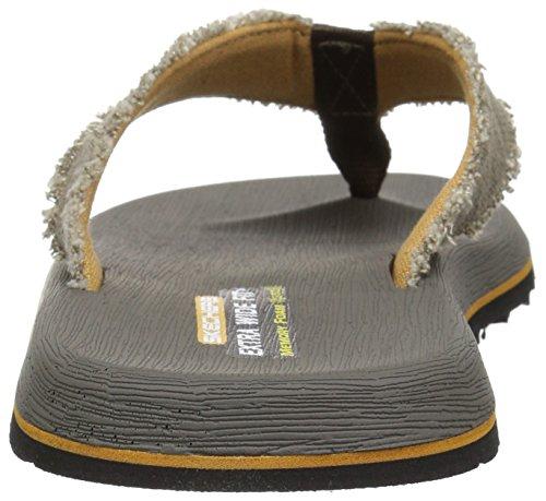 Skechers Mens Tantric-salman Flip-flop Cioccolato