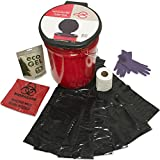 Emergency Zone Honey Bucket Style Toilet Complete Set with Liner and Chemicals