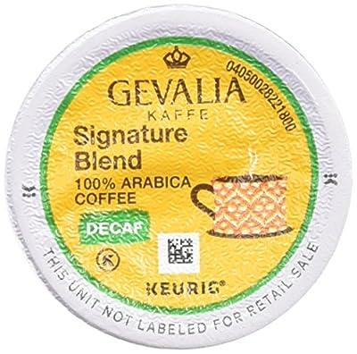 Gevalia Signature Blend DECAF K-Cup Packs, 12 Count