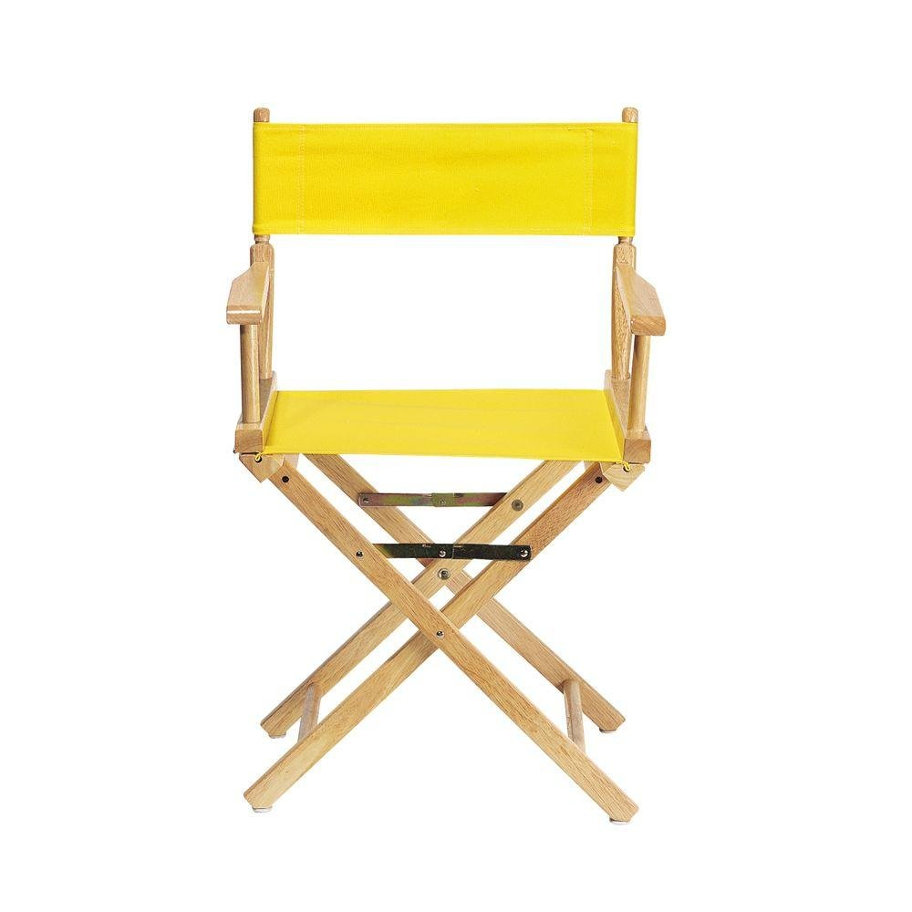 Amazon.com: Replacement Canvas Seat And Back For Directors Chair, CANVAS,  LEMON: Kitchen U0026 Dining