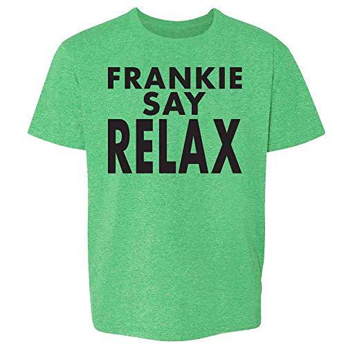 Frankie Say Relax Classic 80s Halloween Costume Heather Irish Green 3T Toddler Kids Girl Boy T-Shirt