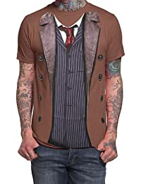 Doctor Who 10th Doctor Costume T-shirt (X-Large)