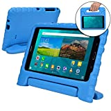 Samsung Galaxy Tab 4 7.0 case for kids [SHOCK PROOF KIDS TAB 7 CASE] COOPER DYNAMO Kidproof Child Tab 4 7 inch Cover for Toddlers Girls Boys | Kid Friendly Handle Stand, Light, Screen Protector (Blue)