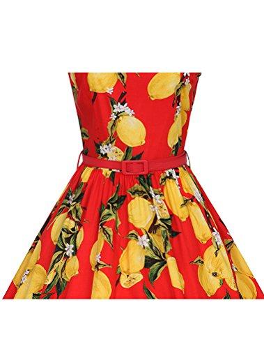 MatchLife - Bata - para mujer Red Floral 1 46
