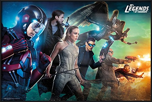 Dc's Legends Of Tomorrow - Framed TV Show Poster / Print The Team By