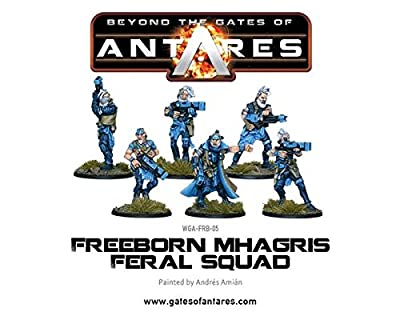 Beyond The Gates Of Antares - Freeborn Mhagris Feral Squad by Gates Of Antares