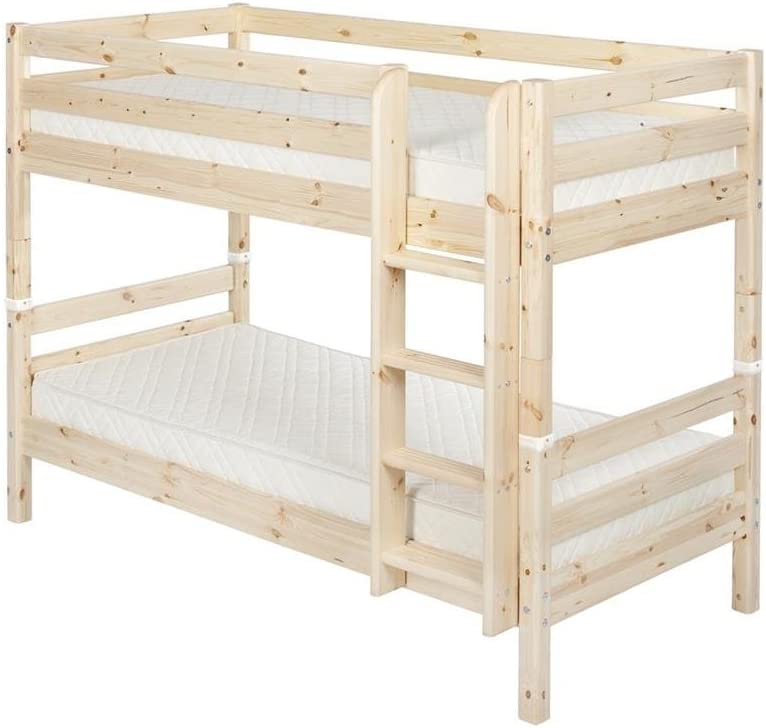 Flexa Classic Litera 90 x 190 cm recto Escalera lacado natural 90 – 10031 – 1 de 01: Amazon.es: Hogar