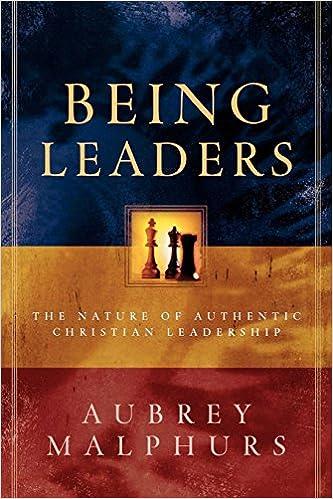 Being Leaders: Amazon co uk: Aubrey Malphurs: 9780801091438