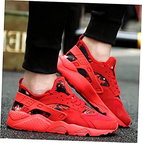 0182065eadef24 Amazon.com  Shoes Red Size US 5  UK 3  EU 35.5 Women Running Shoes  Breathable Athletic Casual Sneakers Sport Tennis Walking Gym  Garden    Outdoor