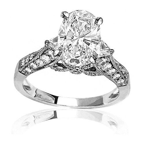 0.5 Ct Oval Diamond - 8