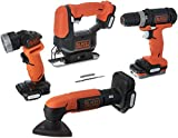 BLACK+DECKER BDCK502C1 GoPak 4-Tool Combo Kit