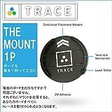 TRACE 日本 正規品 SURF SNOW MOUNT 1P マウント1個売り サーフィン スケート スキー&スノーボード