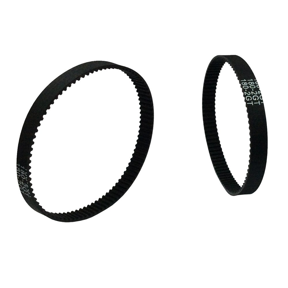 BEMONOC 2GT Timing Belt 180-2GT-6 Rubber L=180mm W=6mm 90 Teeth in Closed Loop for 3D Printer Pack of 10pcs by 2GT Timing Belt Closed Loop (Image #5)