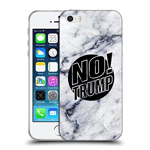 Super Galaxy Coque de Protection TPU Silicone Case pour // Q04160522 Pas plus de trump marble // Apple iPhone 5 5S 5G SE