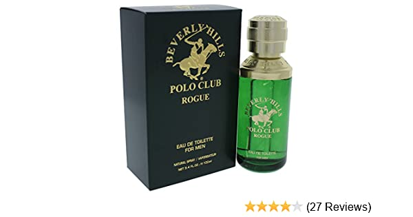 Amazon.com : Beverly Hills Polo Club Rogue Eau de Toilette Spray for Men, 3.4 Ounce : Beverly Hills Polo Club Cologne : Beauty