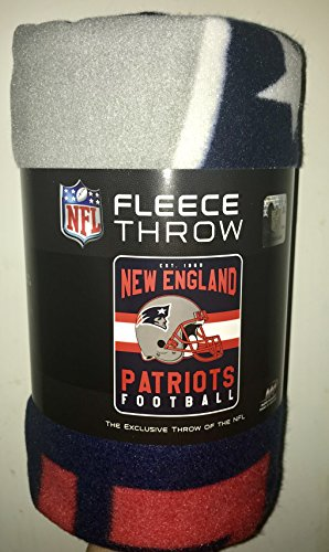 (NFL New England Patriots Fleece Throw)