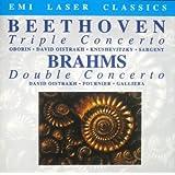 Beethoven - Triple Concerto; Brahms - Double Concerto- DAVID OISTRAKH, Alceo Galliera, FOURNIER, OBORIN, kNUSHEVITZKY, SARNET [UK Import]