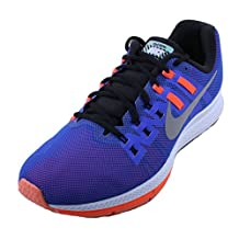 Nike Air Zoom Structure 19 Flash Womens Blue/Reflectant Silver/Orange Athletic Sneakers