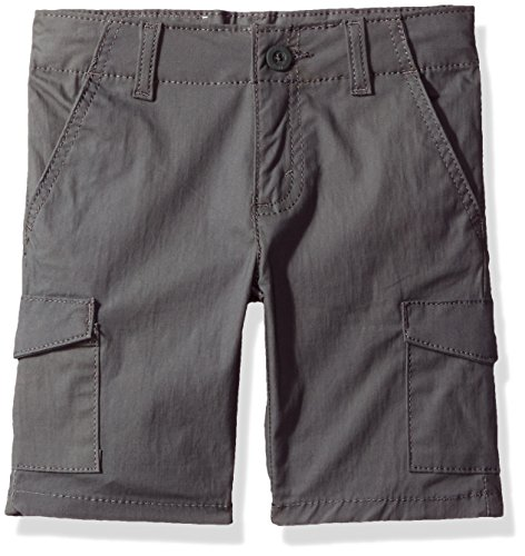 Adjustable Waist Cargo Shorts - Levi's Big Boys' 511 Slim Fit Lightweight Stretch Shorts, Gargoyle, 18
