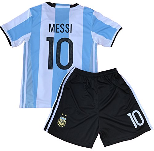 Messi Jersey 2018 World Cup Qualifiers Argentina Soccer Jersey Youth