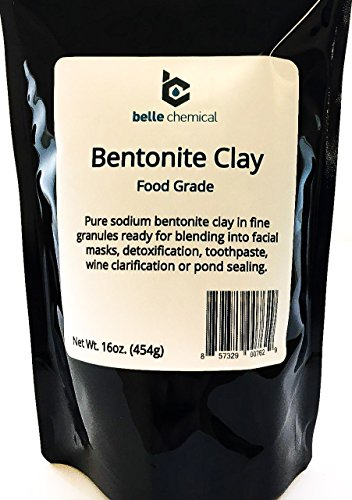 Food Grade Sodium Bentonite Clay (1 Pound)