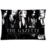 HipsterOne Unique The Gazette 2013 Jrock Pillowcase Custom Zip Throw Pillow Case Cover (Standard 20x30 inch) Sam-19-67