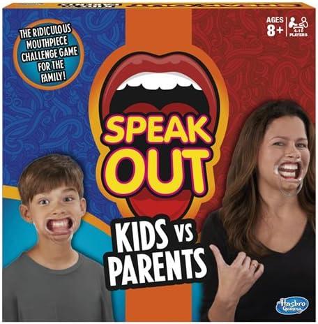 Hasbro Juego de Mesa Speak out: Amazon.es: Juguetes y juegos