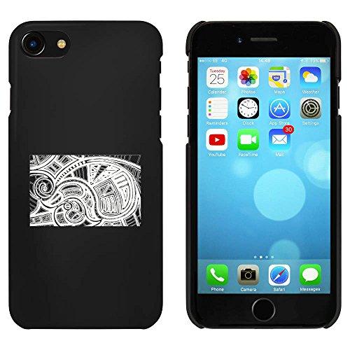 Noir 'Abstrait' étui / housse pour iPhone 7 (MC00059951)