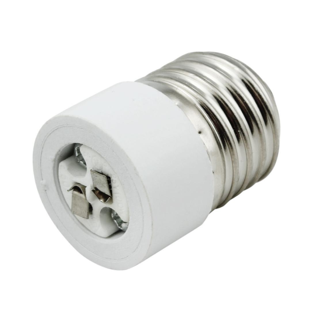 Creazy® E27 to GU5.3 Base Socket Light Bulb Lamp Holder Adapter Plug Converter Creazydog 1561d
