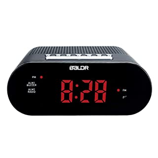 Alarm Clock LED Sveglia Radio Canale FM Set On Radio Suono Fare Sveglia Snooze