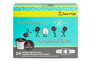 Smart Sips Brown Sugar Bourbon Gourmet Coffee 24 Count Compatible With All Keurig K-cup Machines from Smart Sips