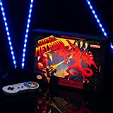 SNES Super Metroid Luminart - Wall Art