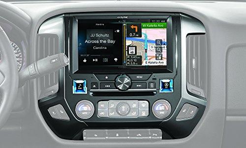 Chevrolet Silverado 1500 Hub - Alpine Electronics X110-SLV in-Dash Restyle System for Chevrolet Silverado 2014-Up, 10